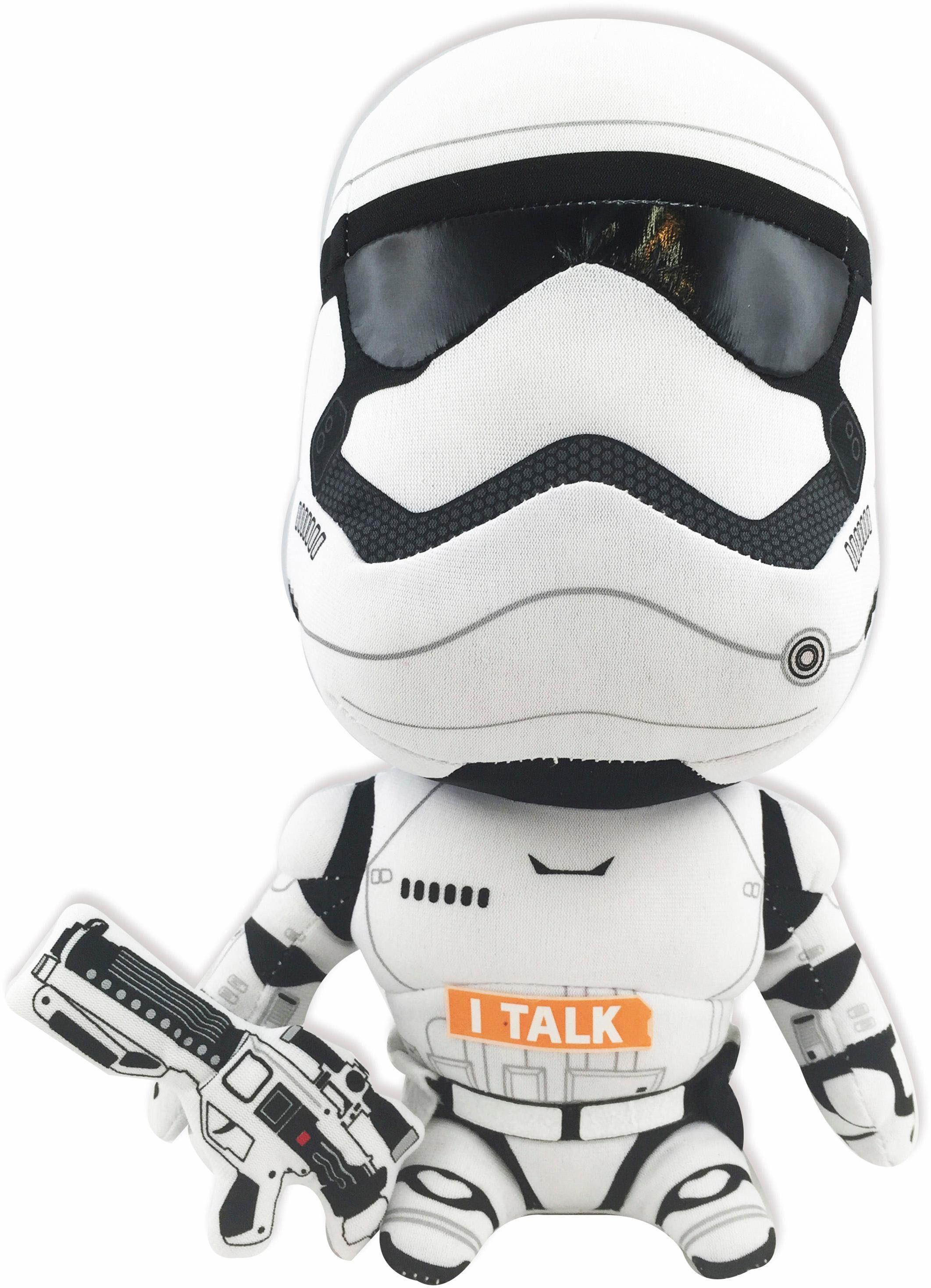 Plüschfigur mit Sound, »Disney Star Wars™, Stormtrooper, ca. 23 cm«