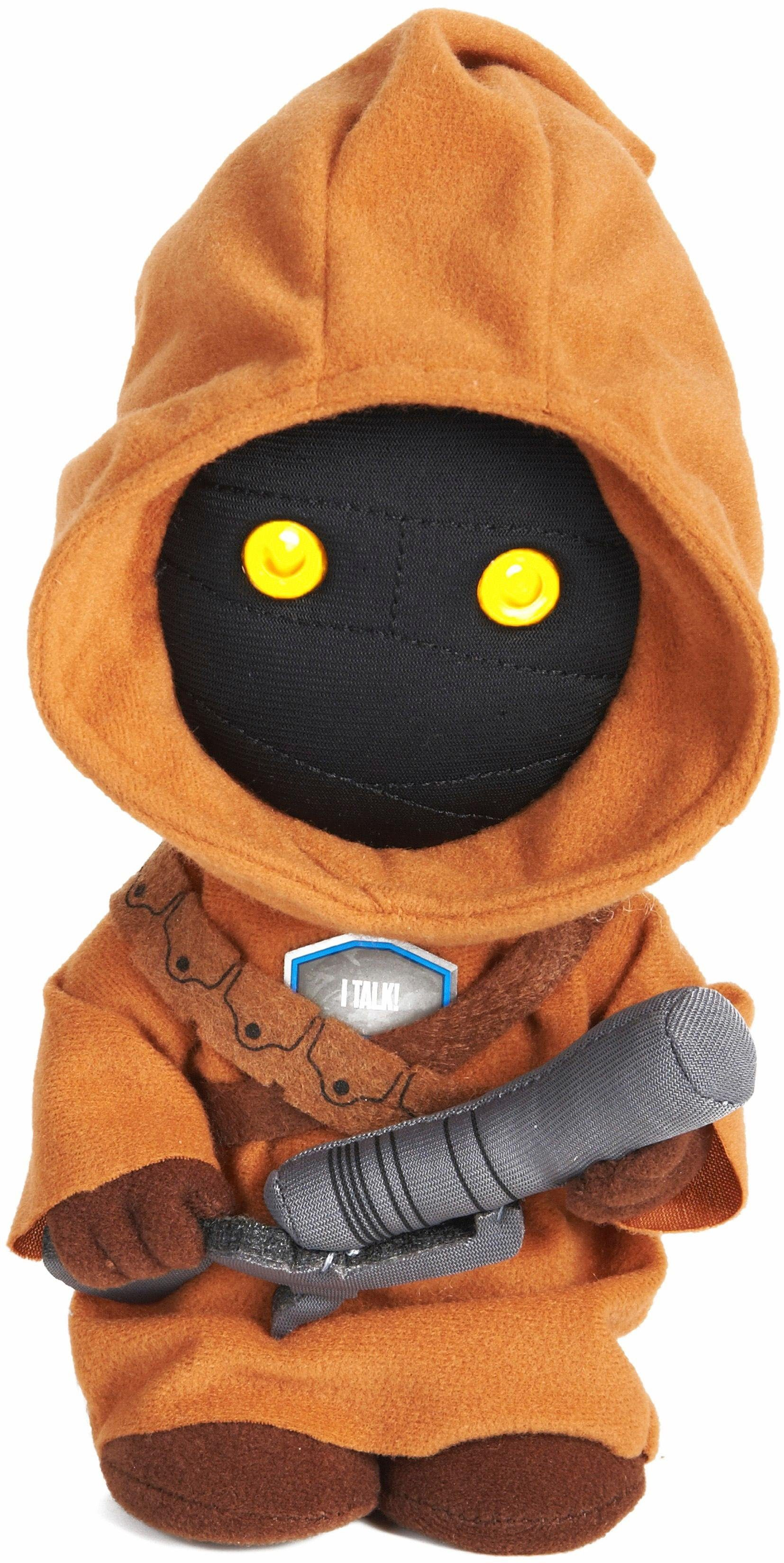 Plüschfigur mit Licht und Sound, »Disney Star Wars™, Collectors Edition, Jawa, ca. 23 cm«