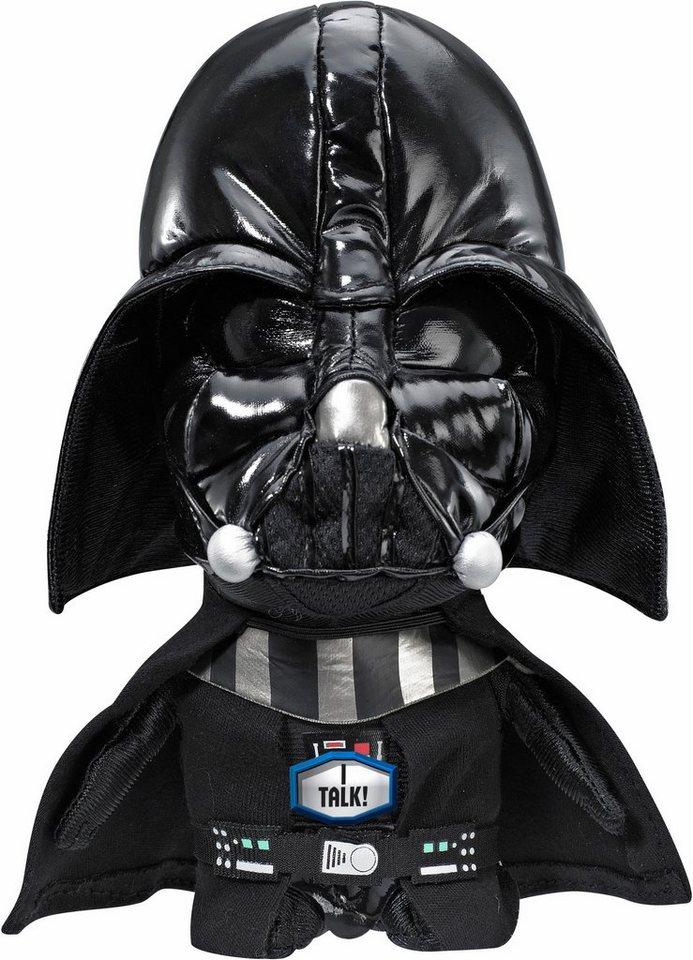 Plüschfigur mit Sound, »Disney Star Wars™, Darth Vader, ca. 20 cm« in schwarz