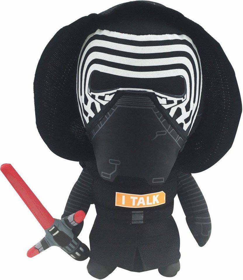 Plüschfigur mit Sound, »Disney Star Wars™, Kylo Ren, ca. 23 cm« in Schwarz