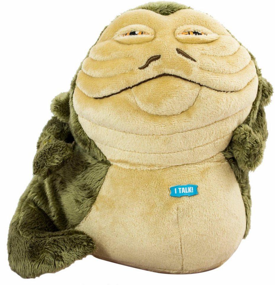 Plüschfigur mit Sound, »Disney Star Wars™ Collectors Edition, Jabba the Hutt, ca. 23 cm« in gelblich/grün