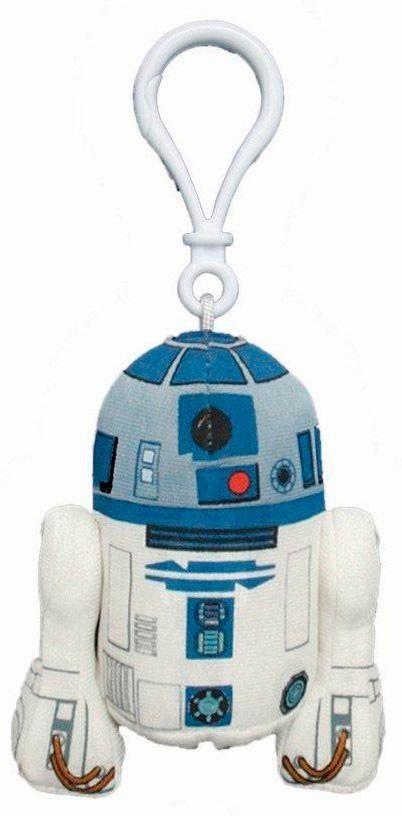 Plüschfigur mit Sound und Anhänger, »Disney Star Wars™, R2 D2, ca. 10 cm«