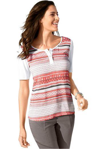 Classic Inspirationen Shirt mit Rundhals-Ausschnitt