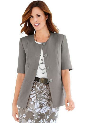 Fair Lady Blazer With Matching Jewelry Button