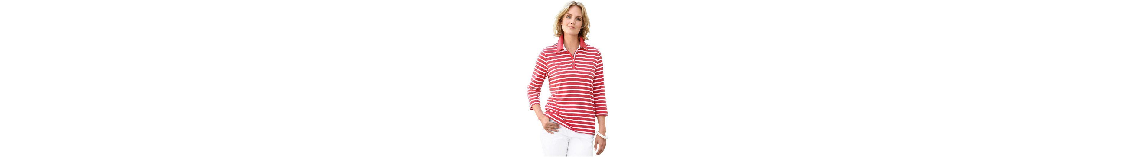 Collection L Poloshirt mit sportivem Ripsband Einkaufen Outlet Online Für Billigen Rabatt 2018 Neuer Günstiger Preis Beliebt Günstige Kaufladen OnacmpP0sA