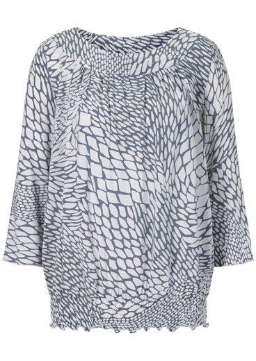 Mimoska Shirt im modernen Druckstil