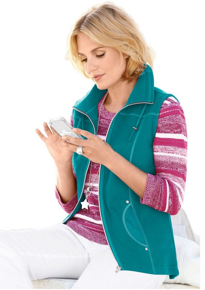 collection l fleece weste mit antipilling ausr stung online kaufen otto. Black Bedroom Furniture Sets. Home Design Ideas