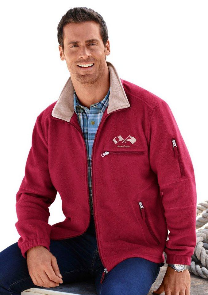 MARCO DONATI Fleece-Jacke für kühle Tage | Bekleidung > Jacken > Fleecejacken | Rot | Fleece | Marco Donati