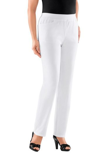 Classic Basics Trousers With High Wearing Comfort