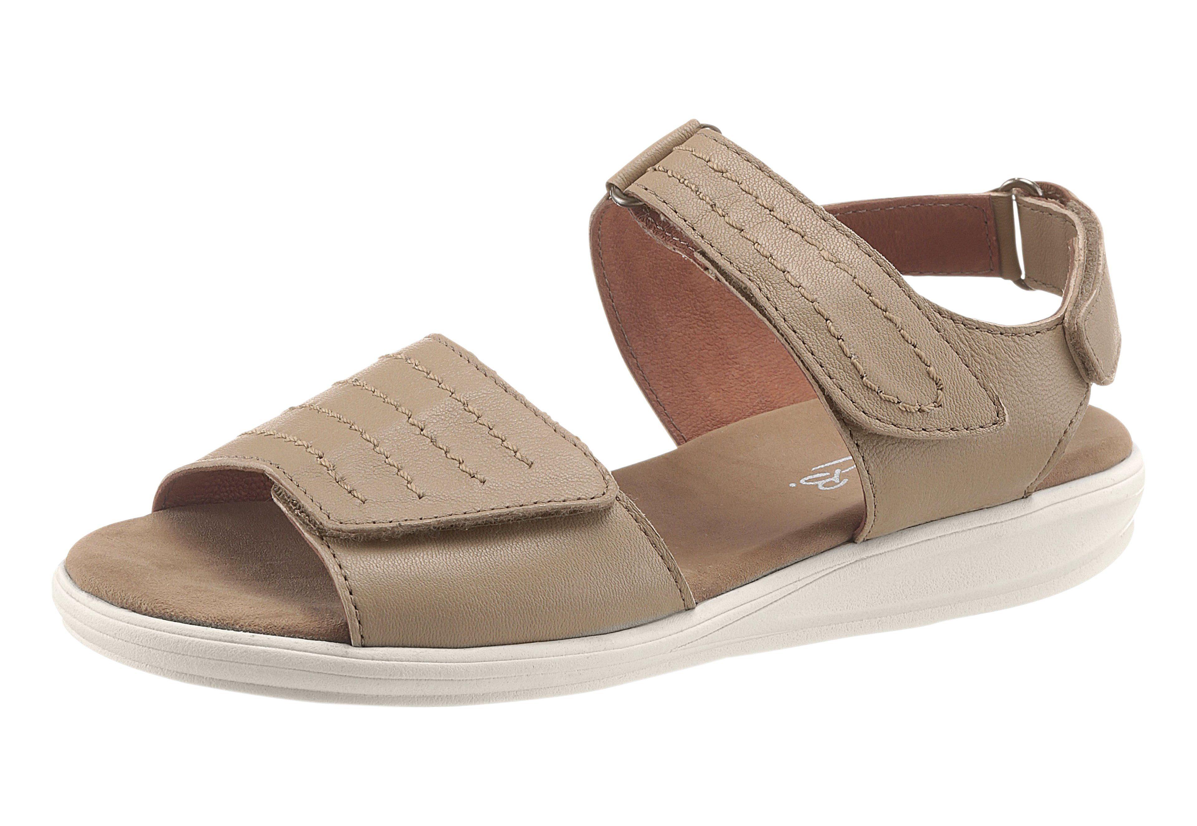 MayBe Sandale mit trittdämpfendem Fußbett kaufen  beige