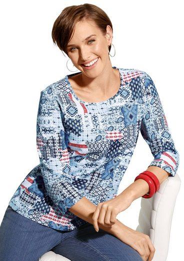 Classic Basics Shirt mit 3/4-Ärmeln