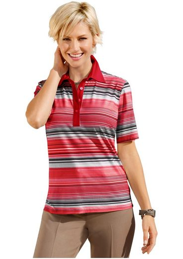 Collection L. Shirt With A Sporty Polo Collar