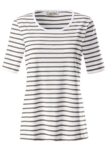 Collection L. Shirt in Streifen Dessin