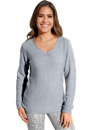 Création L Pullover in leichter Qualität
