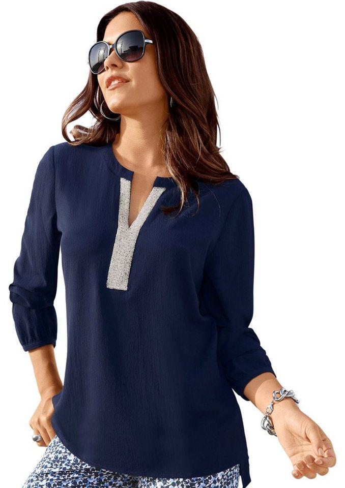 cr ation l bluse mit zierperlendeko online kaufen otto. Black Bedroom Furniture Sets. Home Design Ideas