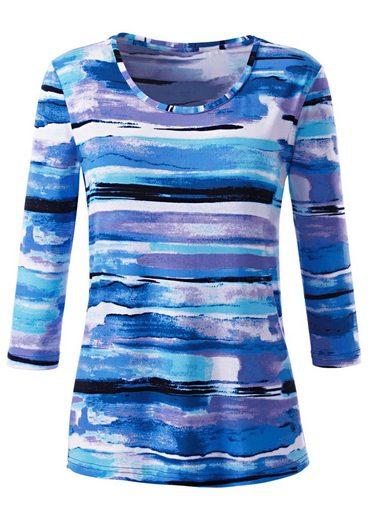Collection L. Shirt mit Rundhals-Ausschnitt