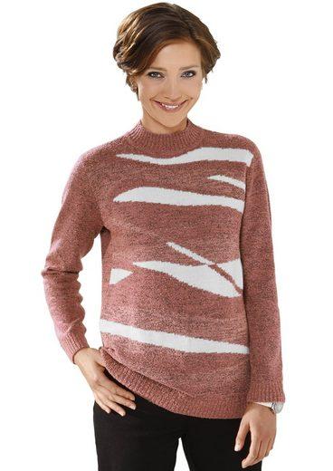 Classic Basics Pullover im aufwändigen Intasienmuster