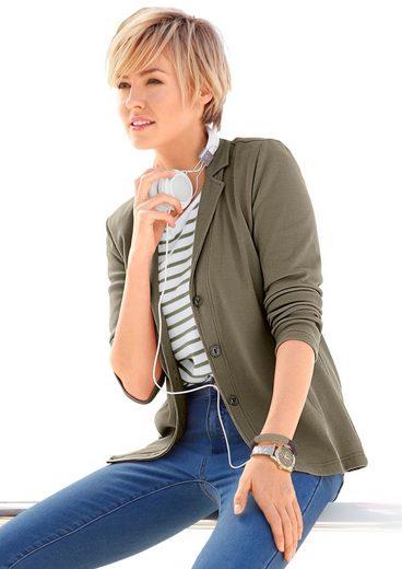 Collection L. Jersey-Blazer in PURE WEAR-Qualität