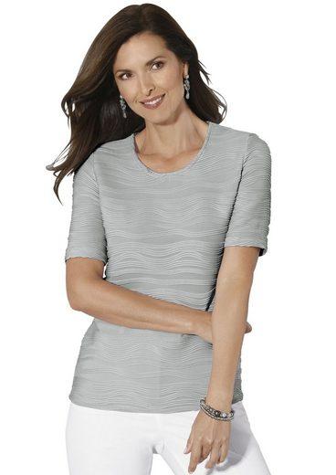 Classic Shirt in schön strukturierter Qualität