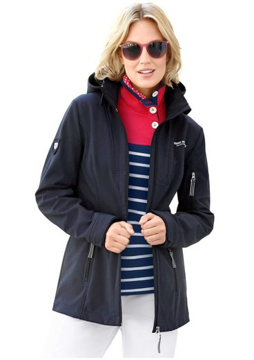Collection L. Softshelljacke mit Fleece gefüttert