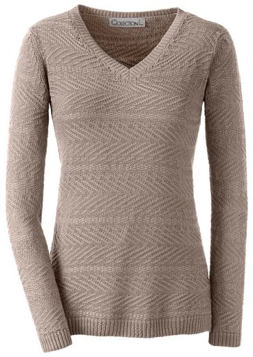Collection L. Pullover mit toller Strickstruktur