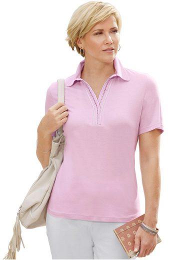 Collection L. Shirt mit Glitzersteinchen