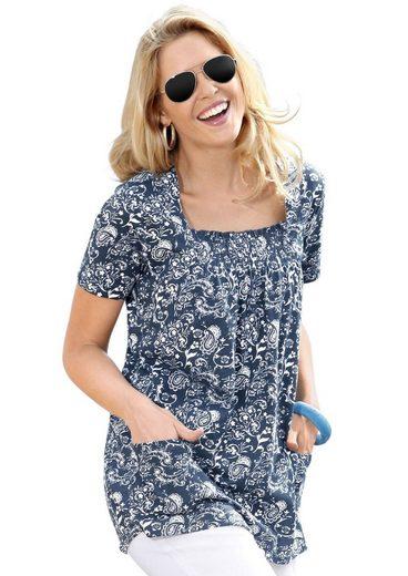 Classic Basics Shirttunika in schmeichelnder A-Form