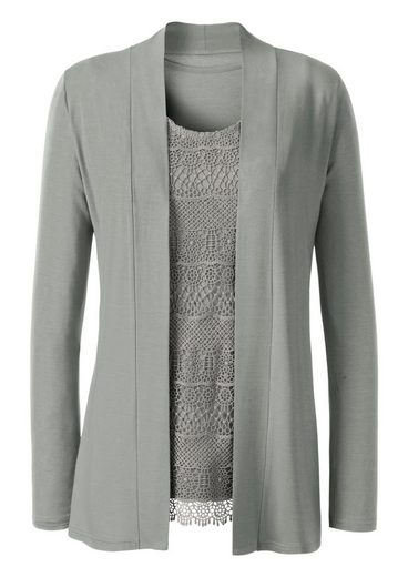 Lady Shirt Jacket With Shawl Collar