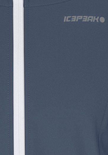 Icepeak Softshell Jacket Pippa, Water From Wind- & Uppermaterial