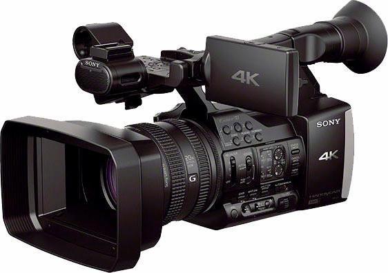 Sony FDR-AX1 4K (Ultra-HD) Camcorder, Videoleuchte