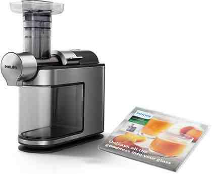 Philips Slow Juicer HR1949/20 Avance, 200 W, für kaltes Pressen