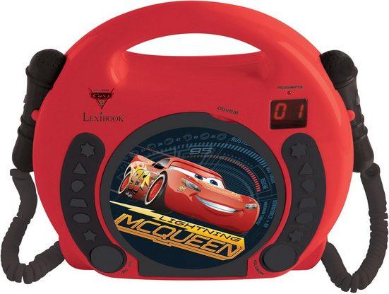 Lexibook® »Disney Pixar Cars« CD-Player (Karaoke mit 2 Mikrofonen)