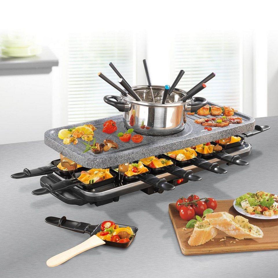 Raclette Und Fondue Set : 2in1 fondue und raclette set online kaufen otto ~ Frokenaadalensverden.com Haus und Dekorationen