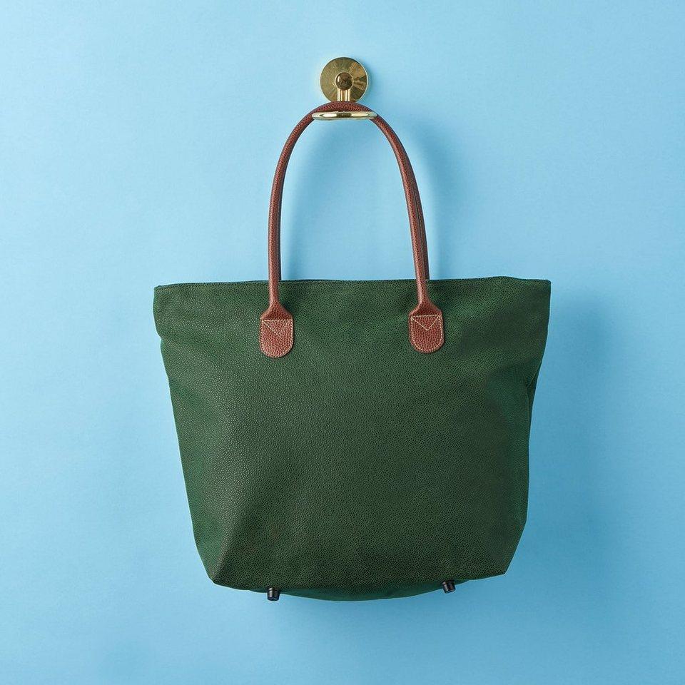 BUTLERS PACK & RIDE »Einkaufstasche mit Reißverschluss« in gruen