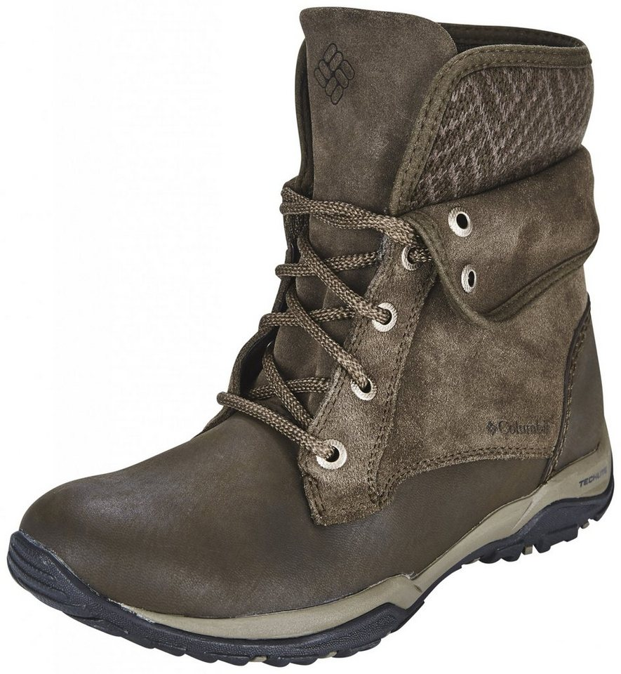 Columbia Kletterschuh »Cityside Fold Boots Women WP« in braun