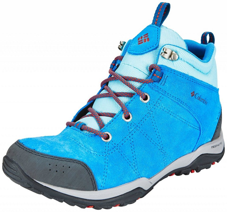 Columbia Kletterschuh »Fire Venture Shoes Women Mid WP« in blau