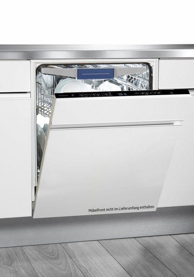 SIEMENS Vollintegrierbarer Einbaugeschirrspüler SX658D02ME, A++, 9,5 Liter, 14 Maßgedecke