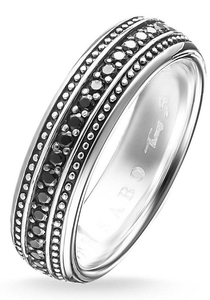 Thomas Sabo Silberring »Ring, TR2004-051-11-60, 64, 66« mit Zirkonia in Silber 925