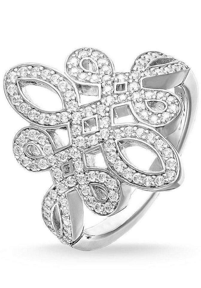Thomas Sabo Silberring »Ring, TR1974-051-14-50, 54, 58, 60« mit Zirkonia in Silber 925