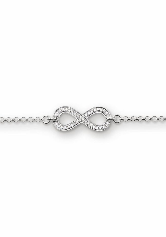 Thomas Sabo Silberarmband »Armband, A1310-051-14« mit Zirkonia in Silber 925