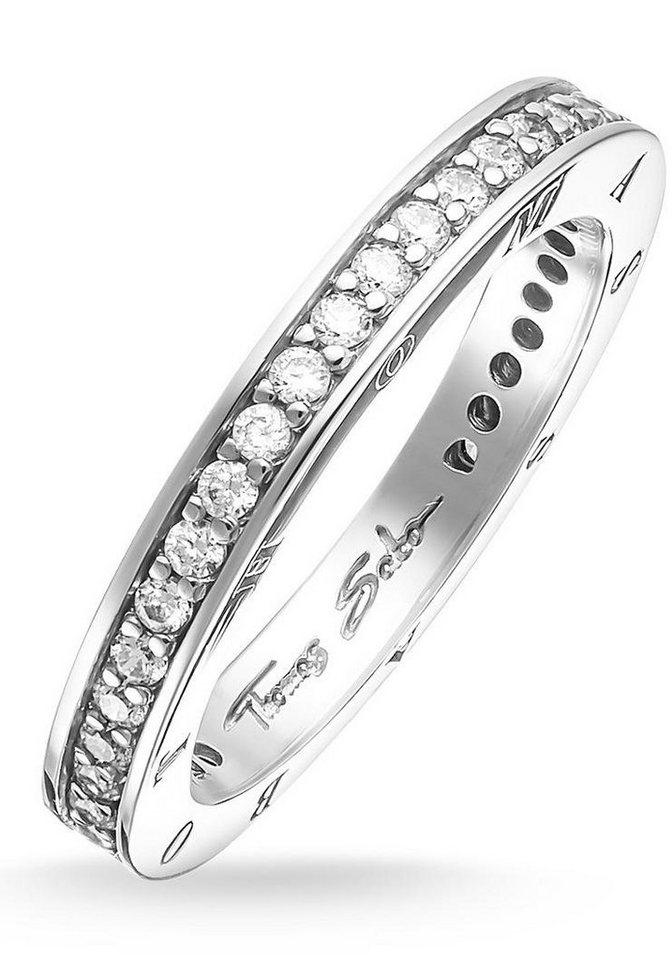 Thomas Sabo Silberring »Ring, TR1700-051-14-50, 54, 58, 60« mit Zirkonia in Silber 925