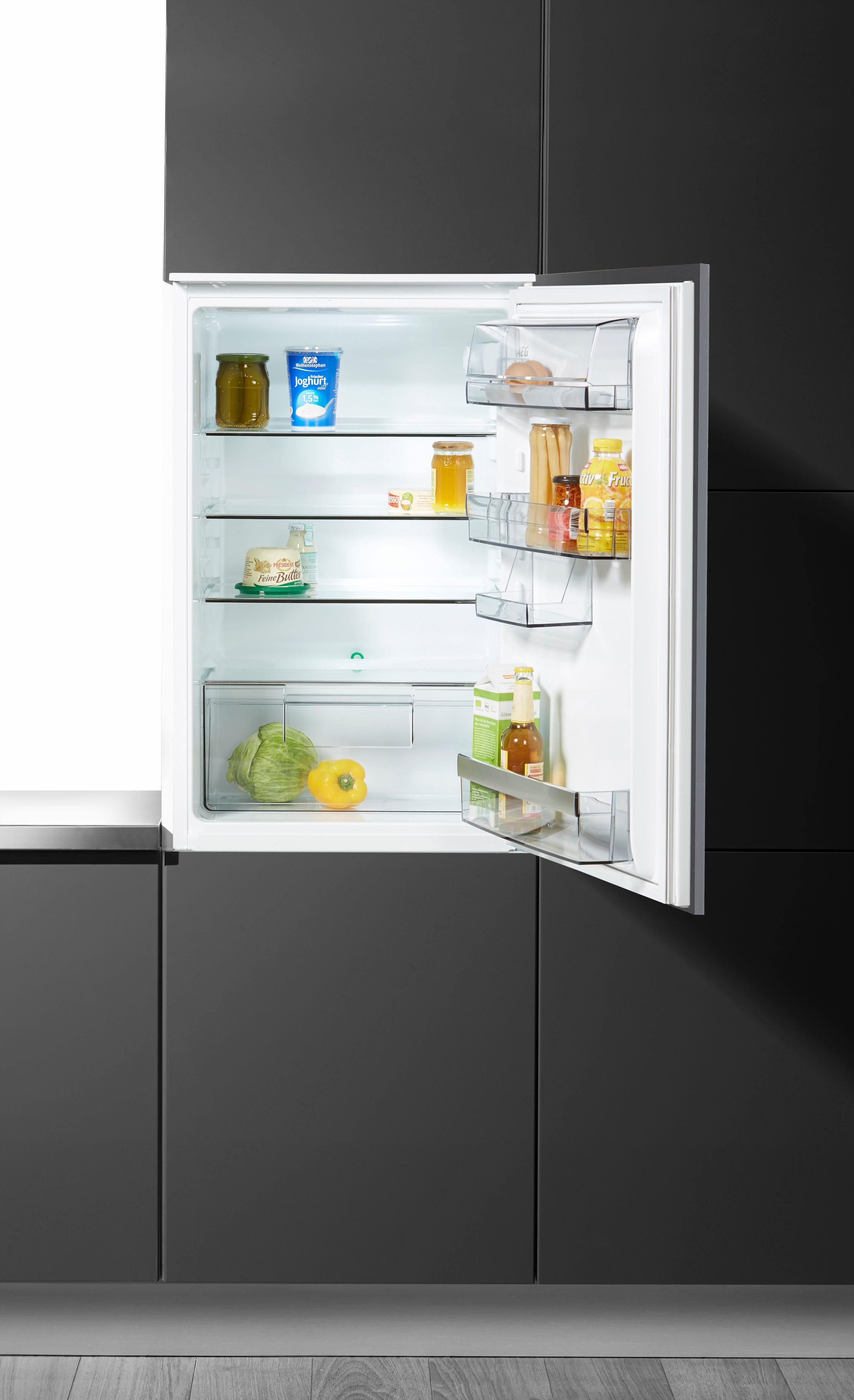 AEG Einbaukühlschrank SANTO SKB58831AS, 87,3 cm hoch, 54,0 cm breit, A+++, 88 cm hoch, integrierbar