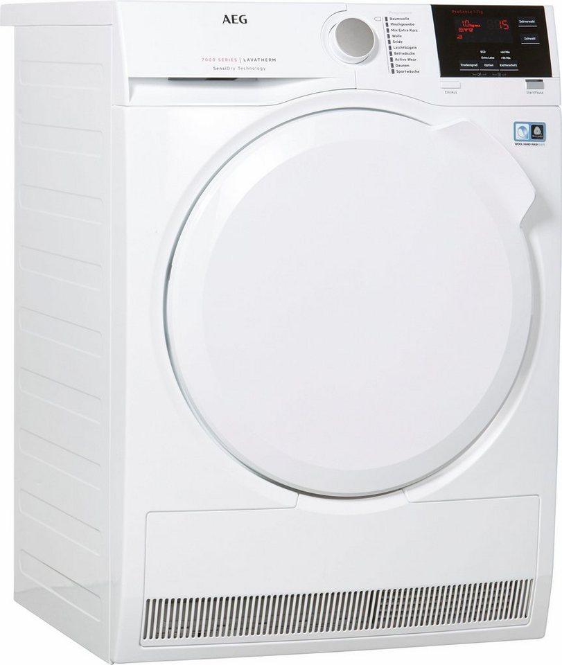 aeg trockner lavatherm t7db60470 7 kg kaufen otto. Black Bedroom Furniture Sets. Home Design Ideas