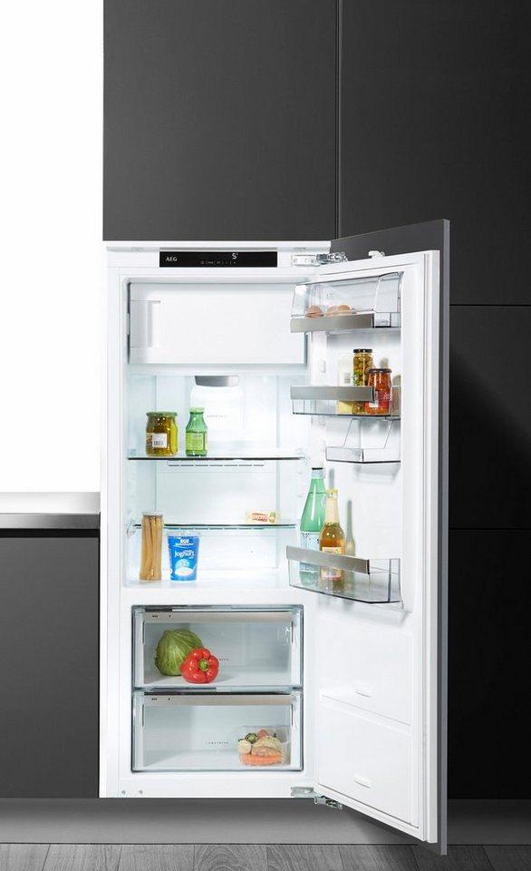 Aeg integrierbarer einbau kuhlschrank santo sfe81436zc a for Integrierbarer kühlschrank