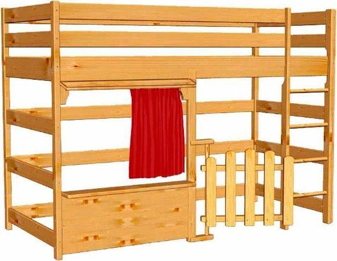 hochbett silenta online kaufen otto. Black Bedroom Furniture Sets. Home Design Ideas