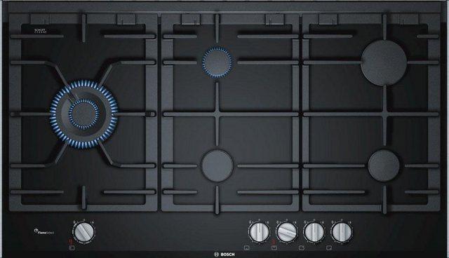 BOSCH Gas-Kochfeld Serie 8 PRS9A6D70D, mit Digitalanzeige