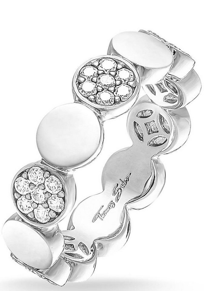 Thomas Sabo Silberring »TR2048-051-14-50, 54, 58, 60« mit Zirkonia in Silber 925