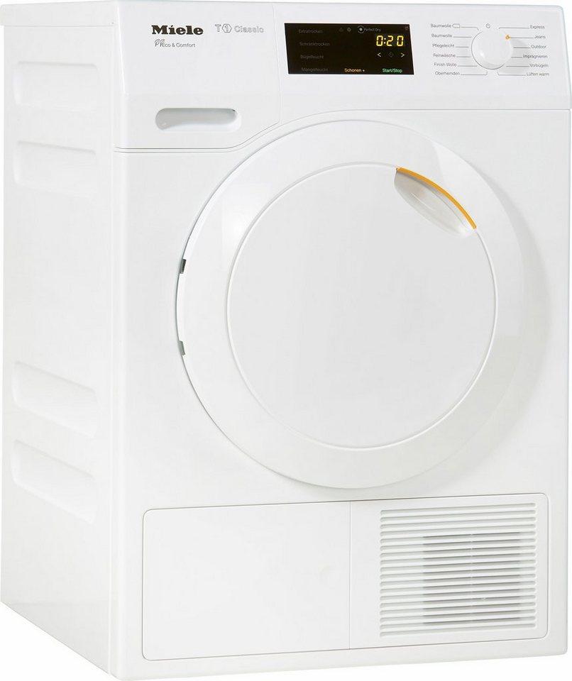 MIELE Trockner TDD130WP Eco, A++, 8 kg in weiß