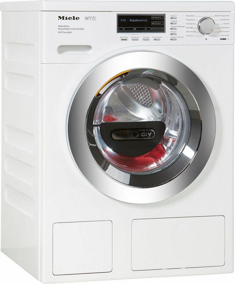 MIELE Waschtrockner WTH720WPM PWash2.0&TDos WiFi D, A, 7 kg / 4 kg, 1.600 U/Min in weiß