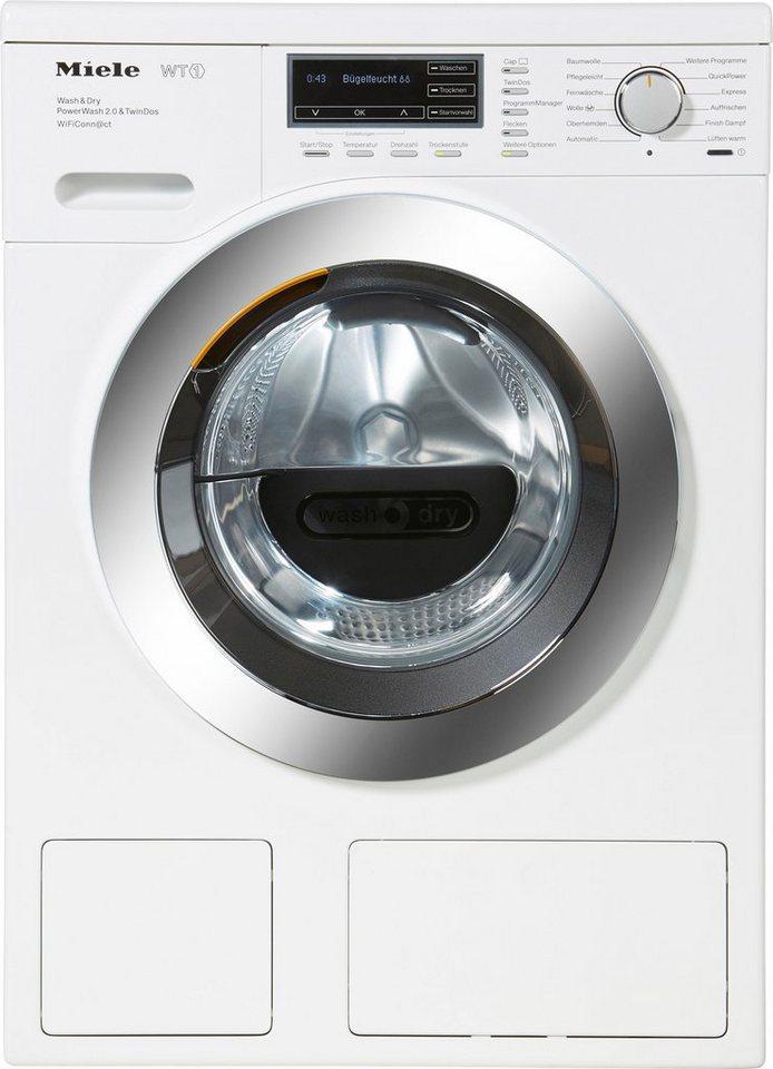 Miele Waschtrockner WTH720WPM PWash2.0&TDos WiFi D, 7 kg/4 kg, 1600 U/Min